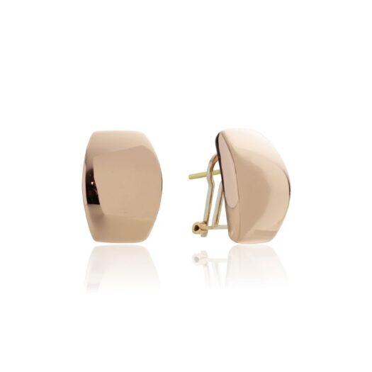 Orecchini Artlinea in Oro 18 Kt Goccia Bombata - Glam - OP0066