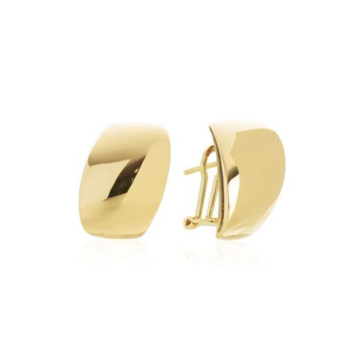 Orecchini Artlinea in Oro Giallo Goccia Bombata - Glam - OP0067-LG