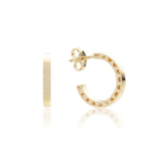 Orecchini Artlinea in Oro 18 Kt Boccola - Glam - OP0072