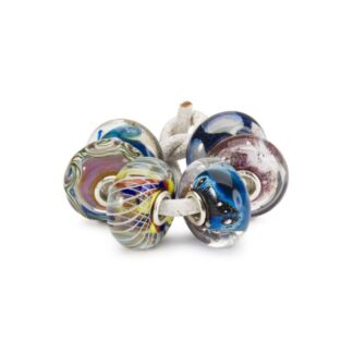 Set Beads Trollbeads in Argento e Vetro - People's Uniques 2020 - TGLBE-00186