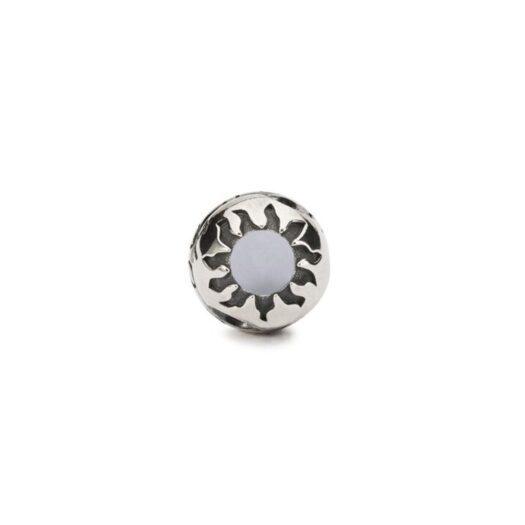 Beads Trollbeads in Argento con Calcedonio - Doni del Cielo - TAGBE-00279