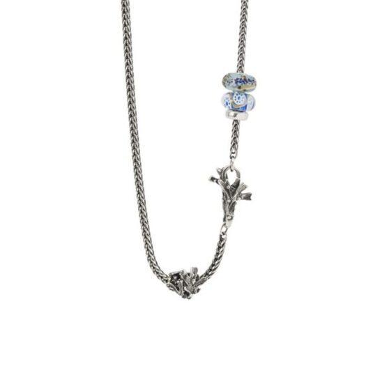 Beads Trollbeads in Argento e Vetro di Murano - Corallo Prezioso - TGLBE-20278