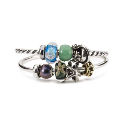 Beads Trollbeads in Argento e Vetro di Murano - Meduse Danzanti - TGLBE-20279