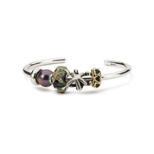 Beads Trollbeads in Argento e Vetro di Murano - Stella di Mare - TGLBE-20281