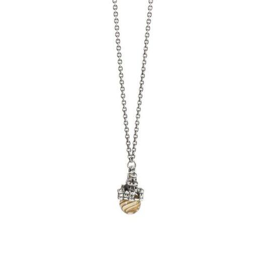 Beads Pendente Trollbeads in Argento - Castello di Sabbia - TAGPE-00081