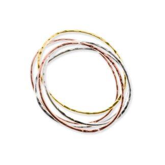Bracciale Unoaerre in Bronzo Tre Colori - Bronze - 381