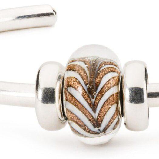 Beads Trollbeads in Argento e Vetro di Murano - Riflessi di Magia - TGLBE-20284