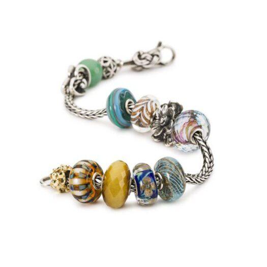 Beads Trollbeads in Argento e Vetro di Murano - Cascata - TGLBE-20285