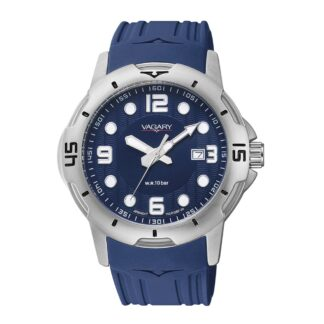 Orologio Solo Tempo Vagary in Acciaio e Gomma - Aqua39 - IB6-019-70