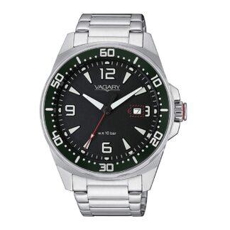 Orologio Solo Tempo Vagary in Acciaio - Aqua39 - IB8-810-51