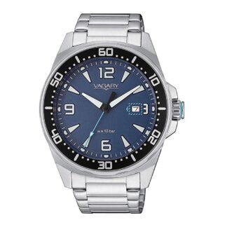 Orologio Solo Tempo Vagary in Acciaio - Aqua39 - IB8-810-71