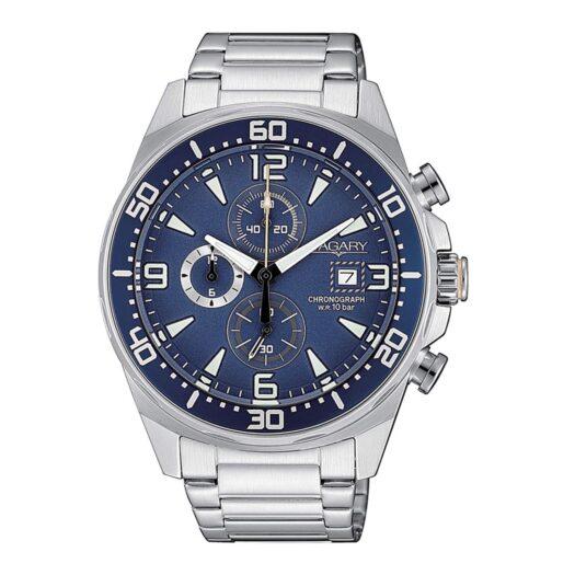 Orologio Cronografo Vagary in Acciaio - Aqua39 - VA1-013-71