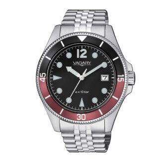 Orologio Solo Tempo Vagary in Acciaio - Aqua39 - VD5-015-59