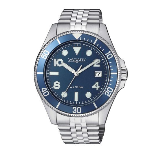 Orologio Solo Tempo Vagary in Acciaio - Aqua39 - VD5-015-71
