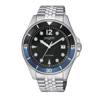 Orologio Solo Tempo Vagary in Acciaio - Aqua39 - VD5-015-91