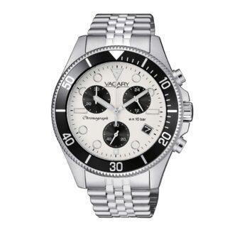 Orologio Cronografo Vagary in Acciaio - Aqua39 - VS1-019-11