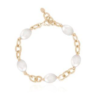 Bracciale Mabina in Argento con Perle Barocche - 533451