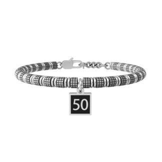 Bracciale Kidult in Acciaio 50°   Buon Compleanno - Special Moments - 731982