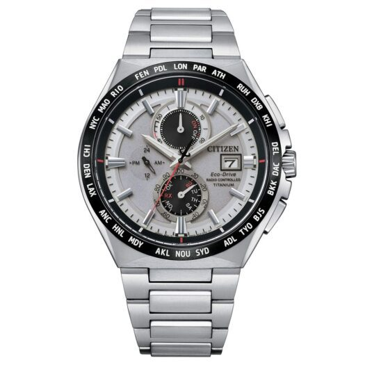 Orologio Eco Drive Cronografo Citizen in Super Titanio - H800 Sport Radiocontrollato - AT8234-85A