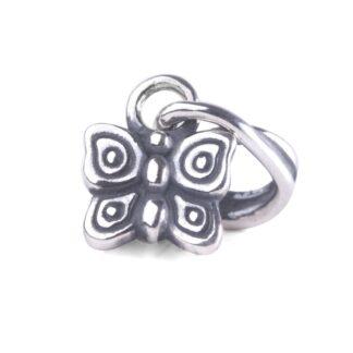 Beads Trollbeads in Argento - Pendente Farfalla in Volo - TAGBE-00277