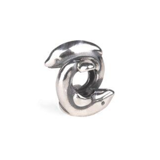 Beads Trollbeads in Argento - Delfini - TAGBE-30160