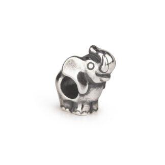 Beads Trollbeads in Argento - Elefante - TAGBE-30161