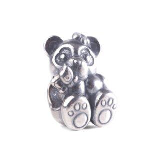 Beads Trollbeads in Argento - Panda con Farfalla - TAGBE-30163