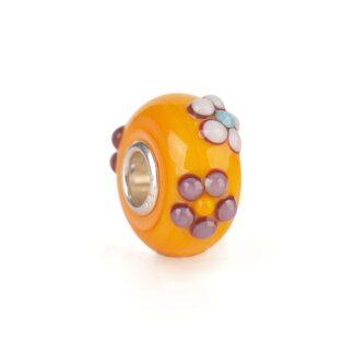 Beads Trollbeads in Argento e Vetro - Bouquet Arancione - TGLBE-20143