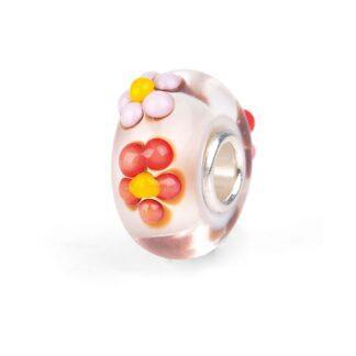 Beads Trollbeads in Argento e Vetro Di Murano - Bouquet Primavera - TGLBE-20256