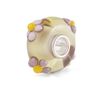 Beads Trollbeads in Argento e Vetro di Murano - Bouquet Tropicale - TGLBE-20272