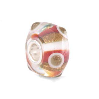 Beads Trollbeads in Argento e Vetro di Murano - Pois dei Desideri - TGLBE-20275
