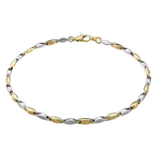 Bracciale Zancan in Oro Giallo e Bianco - Insignia Gold - EB552BG